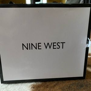 Brand New- Nine West open to wedge sandals